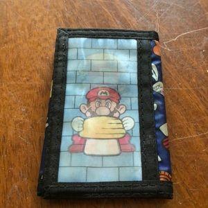 Mario wallet hologram
